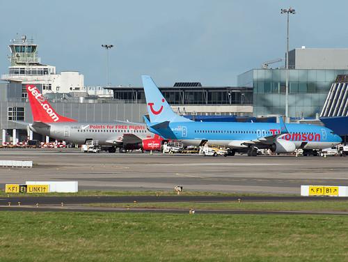 Dublin Airport 737s