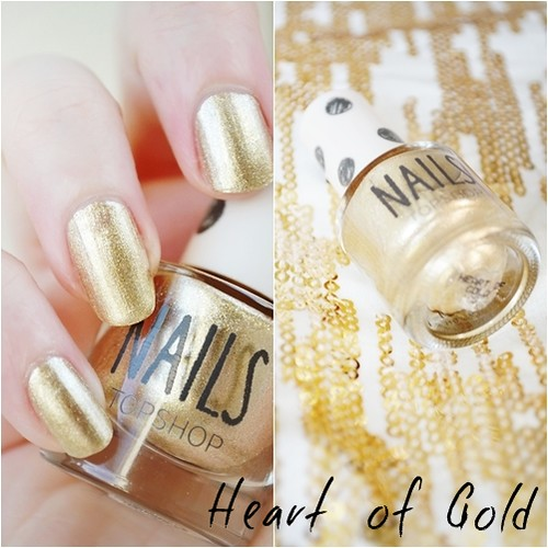 Topshop Heart of Gold nail polish