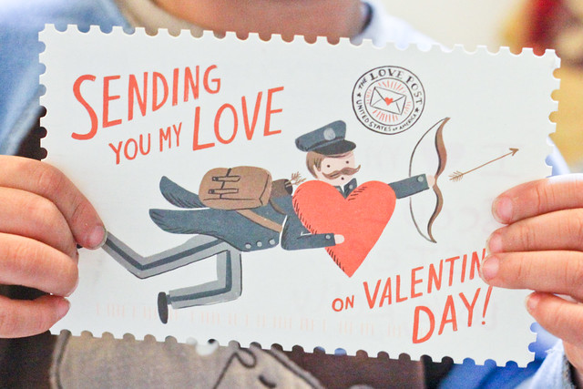 valentine in the mail