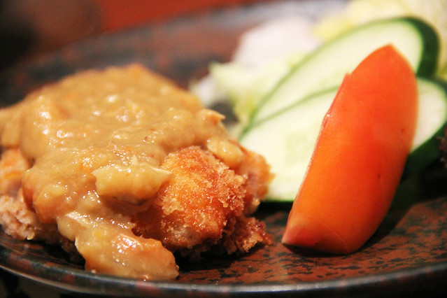 Pork Curry Katsu at Takumi Japanese Restaurant