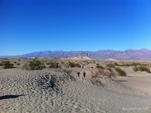 Death Valley NP, sand dunes