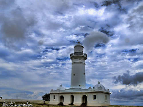 Macquarie Lighthouse c.1883