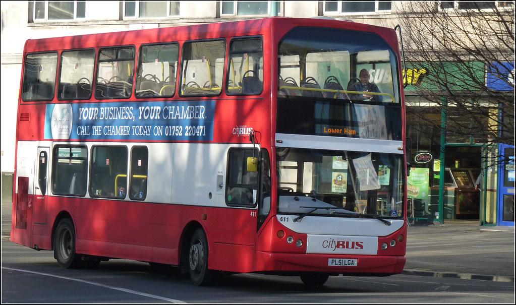 Plymouth Citybus 411 PL51LGA