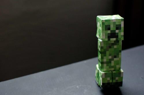 Creeper Minecraft Papercraft