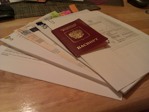 Documents for visa extension