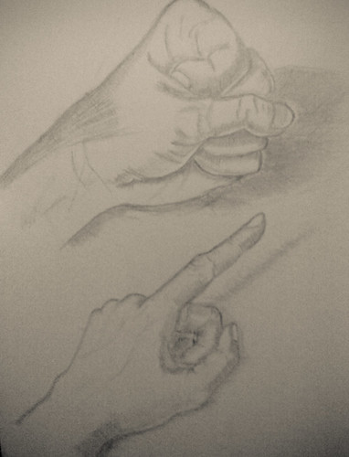 Hands on graphite