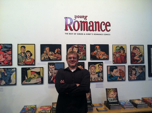 Editor Michel Gange at the Fantagraphics Bookstore & Gallery
