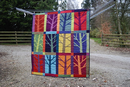 12 Trees Quilted