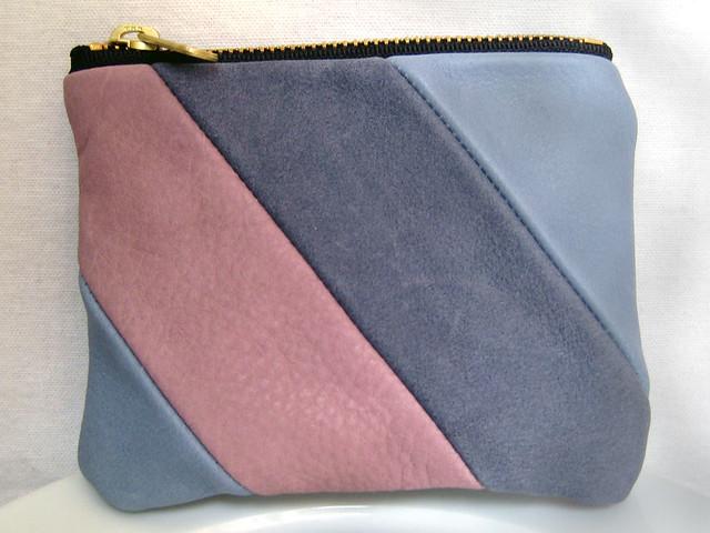 light purple pouch