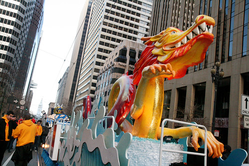 Yellow Dragon Float