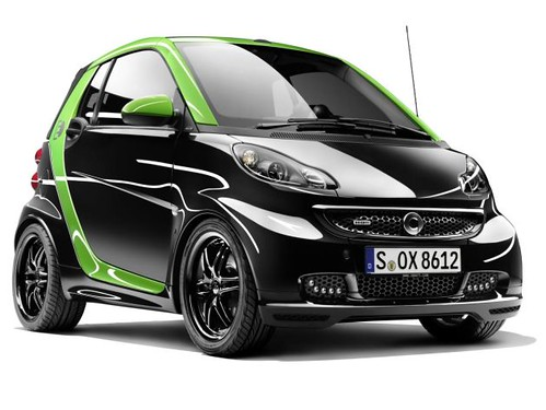 Smart BRABUS electric drive and smart BRABUS ebike