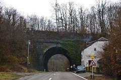 Tunnel sur la N884