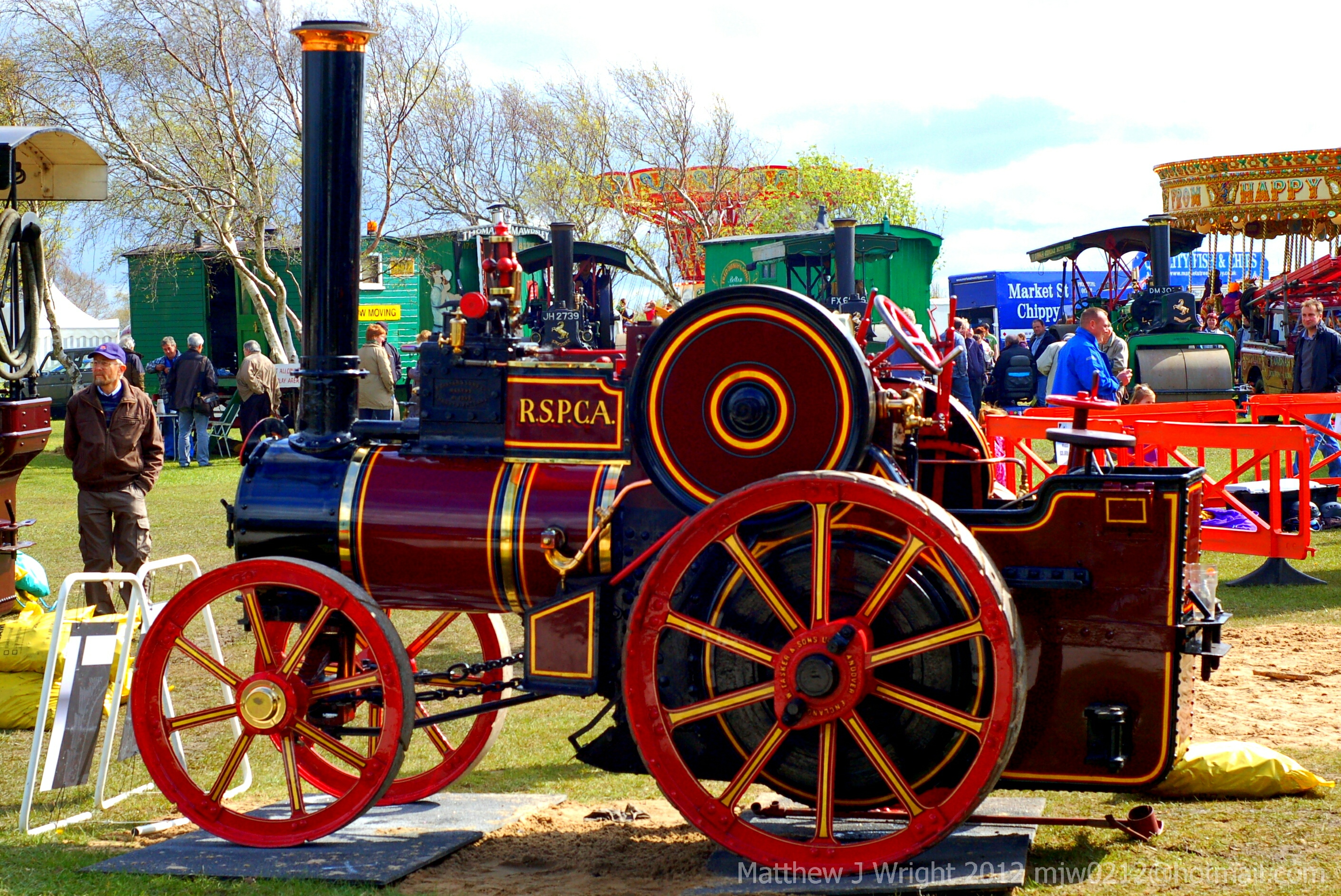 RSPCA Steam Engine at Riverside Steam Rally