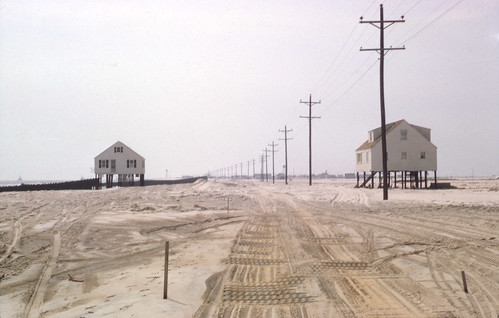 Ash Wednesday Storm of 1962 NJ Shore - Found Photo by jeffs4653