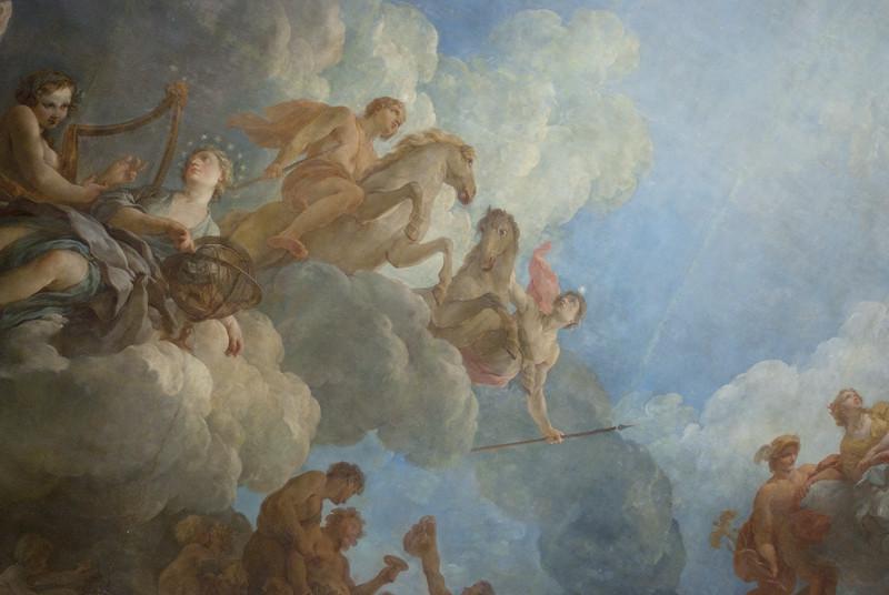 Versailles - Roof painting II