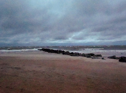 Stormy Dawn at Vilano Beach