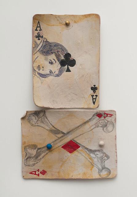 Kristen Morgin, Snow and Cross Bones, 2011