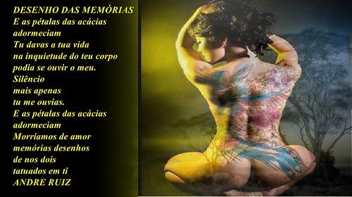 DESENHO DAS MEMÓRIAS by amigos do poeta