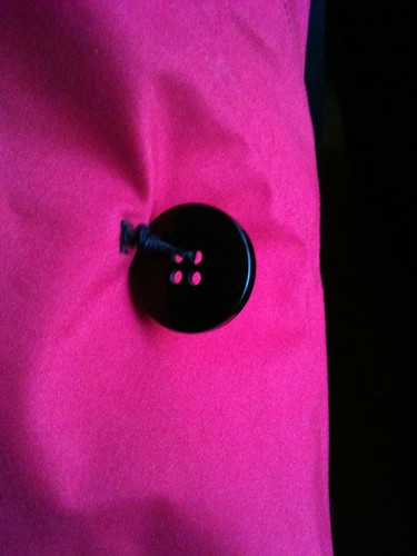 Poorly Sewn On Button