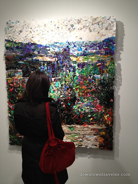 Volta NY Art Show_Sheila Gallagher plastic paintings 06