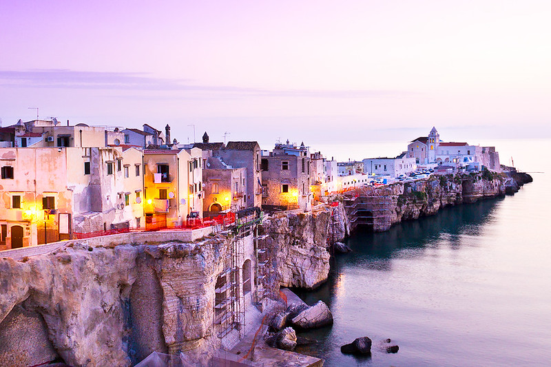 Vieste - Puglia - Italy.