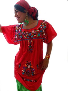 cinco de mayo mexican embroidered dress