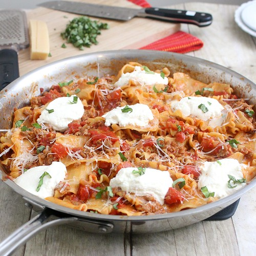 recipe: skillet lasagna cooks illustrated [14]