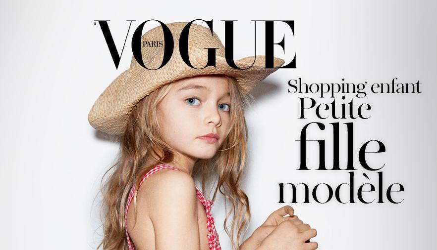Vogue.fr Petite Fille Modèle