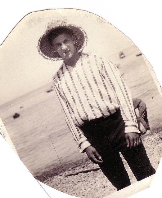 Jack Gruenberg at beach