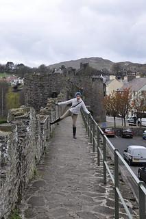 Conwy city walls