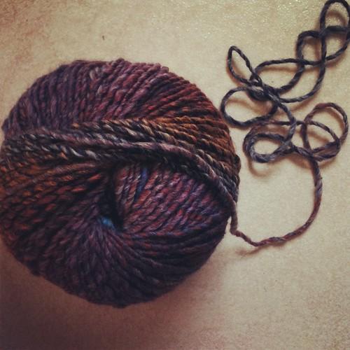 New yarn...
