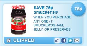 Save $0.75 Off  Smucker