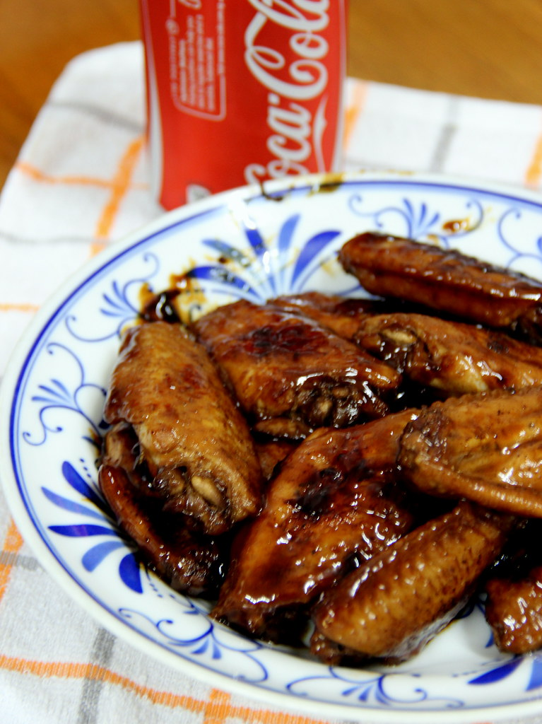 Wings In Cola Recipe — Dishmaps