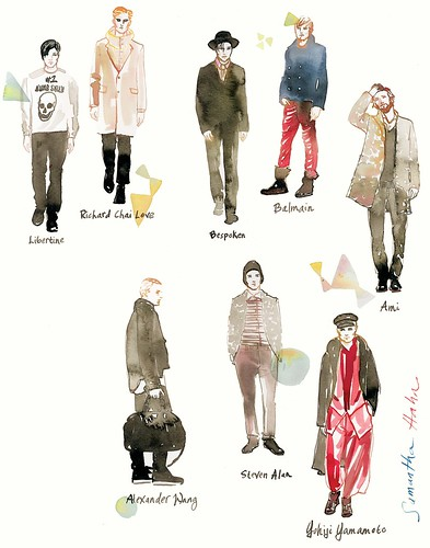 mens wear fall 2012 11X14 print