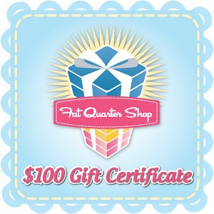 Fat Quarter Shop $100