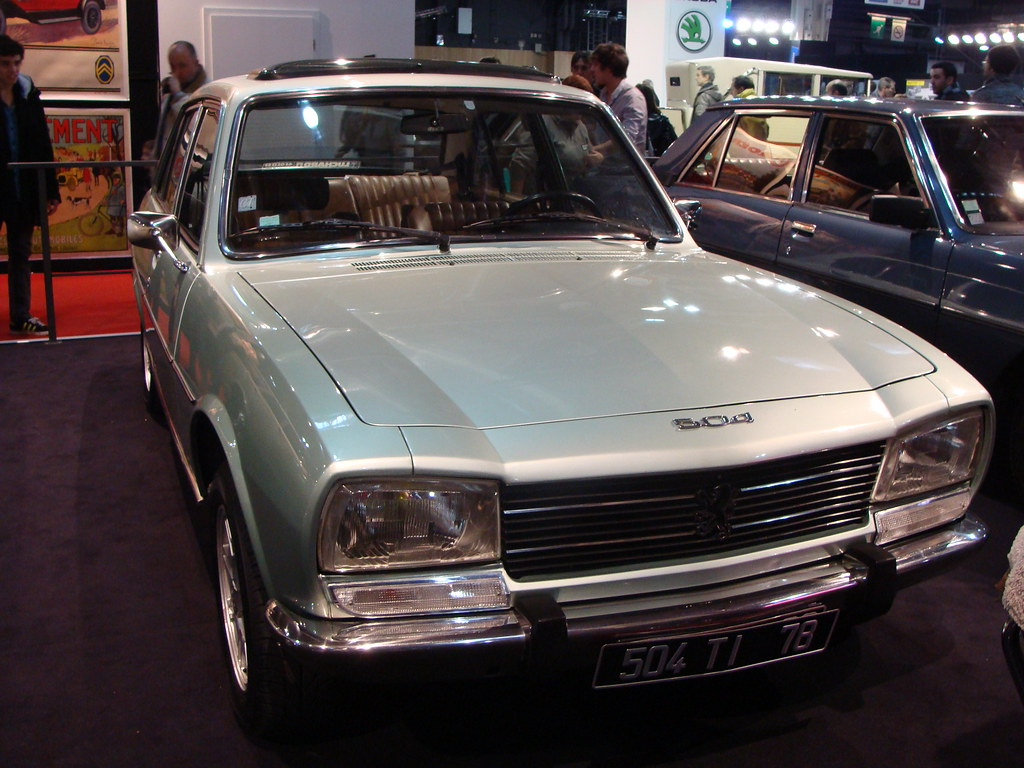 peugeot 504 ti 1979 - a photo on flickriver