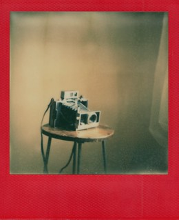 polaroid 180 taken by polaroid sx-70