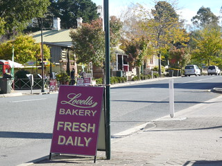 PLovells Bakery Sign