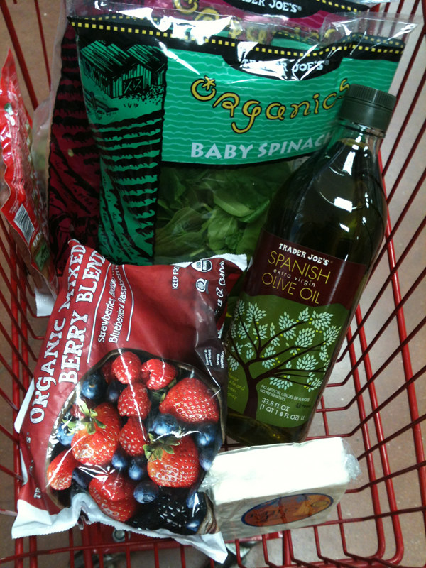 how to buy food for a week
