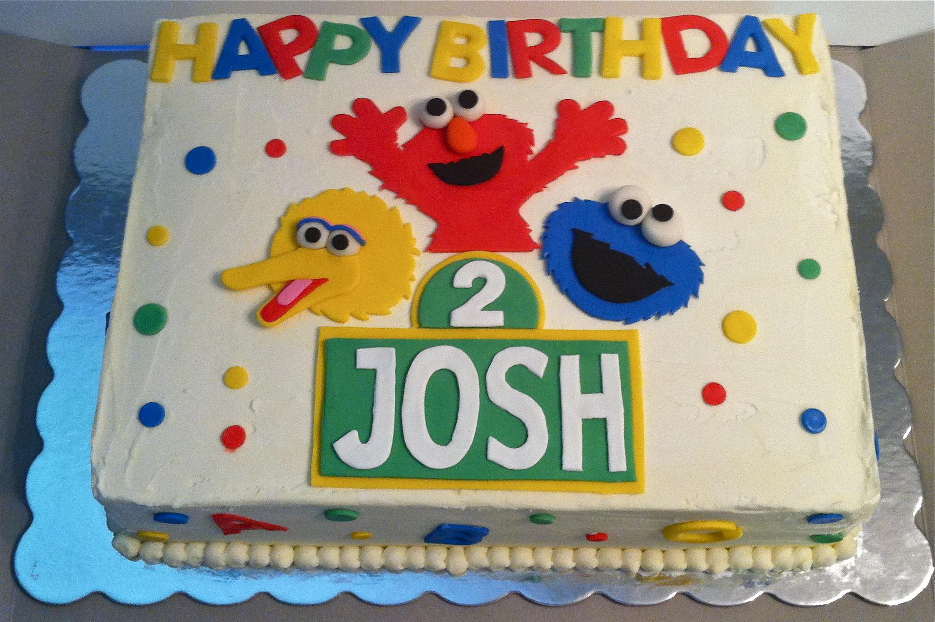 Cake Decorating Sesame Street Birthday : Sesame Street Birthday Cake Flickr - Photo Sharing!