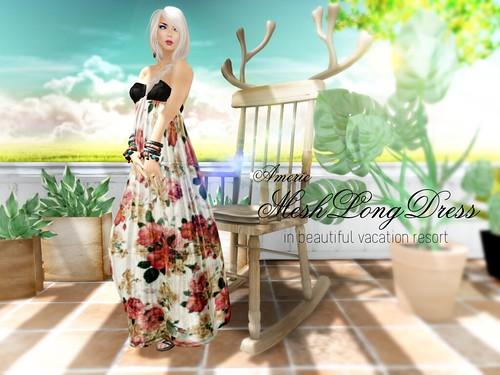 long dress mesh_poster