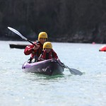 Family fun kayaking in pembrokeshire 1