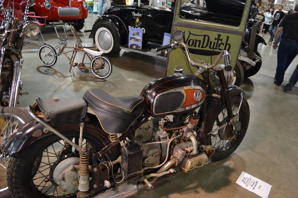 Von Dutch Vw Motorcycle Iowahawk Blog Flickr