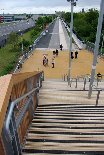 The Greenway route to the Olympic park