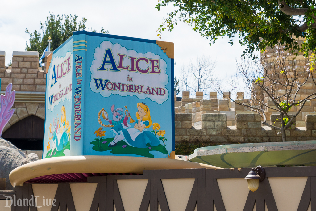 Alice in Wonderland Refurbishment
