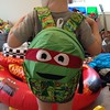 Ninja Turtle Backpack - why not!