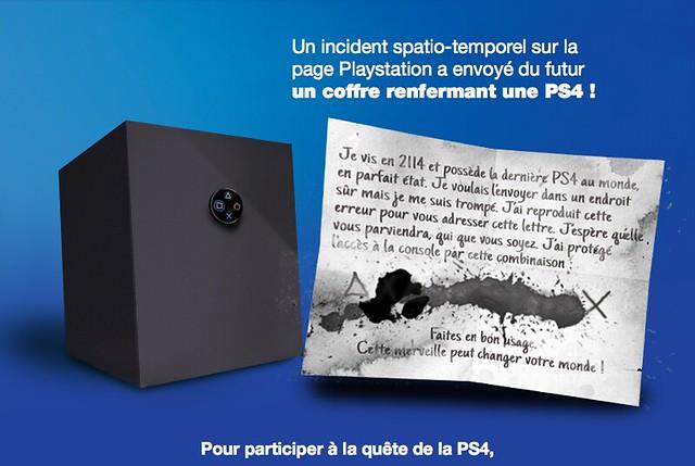 Coffre PS4