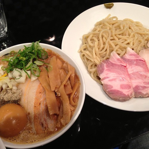 特製コンデンス煮干つけ麺 / 666