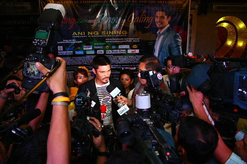 Presscon with NCCA Youth Ambassador Dingdong Dantes @ NCCA Lobby