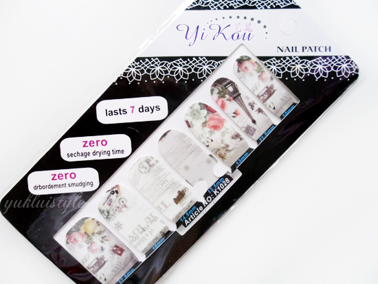 Born Pretty Paris Eiffel Tower Nail Stickers review and swatch